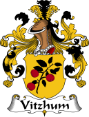 German Coat of Arms for Vitzhum