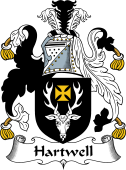 English Coat of Arms for Hartwell