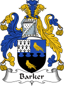 Irish Coat of Arms for Barker (Tipperary)