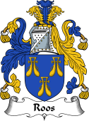 English Coat of Arms for Roos