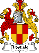 English Coat of Arms for Ridsdale
