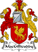 Irish Coat of Arms for MacGillicuddy