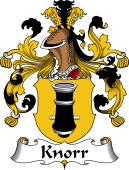German Wappen Coat of Arms for Knorr