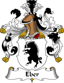 German Wappen Coat of Arms for Eber