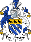English Coat of Arms for Pocklington