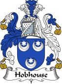 English Coat of Arms for Hobhouse