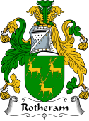 English Coat of Arms for Rotheram