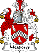 English Coat of Arms for Meadows