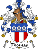 German Wappen Coat of Arms for Thomas