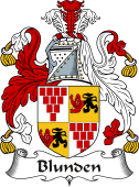 Irish Coat of Arms for Blunden