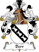 German Coat of Arms for Derr