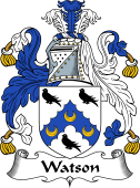 English Coat of Arms for Watson