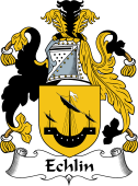 Irish Coat of Arms for Echlin