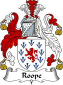 English Coat of Arms for Roope