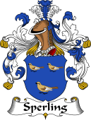 German Coat of Arms for Sperling