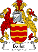 Irish Coat of Arms for Ballet