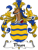 German Wappen Coat of Arms for Thun
