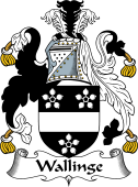 English Coat of Arms for Wallinge