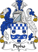 Irish Coat of Arms for Pipho or Phypoe