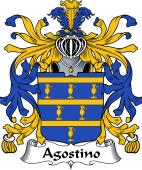 Italian Coat of Arms for Agostino