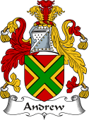 Irish Coat of Arms for Andrew