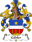 German Wappen Coat of Arms for Gähler