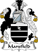 Irish Coat of Arms for Mansfield