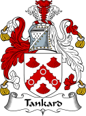 English Coat of Arms for Tankard