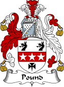 English Coat of Arms for Pound