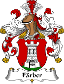 German Coat of Arms for Färber