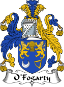Irish Coat of Arms for O'Fogarty