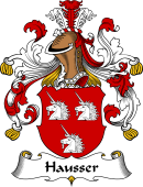 German Coat of Arms for Hausser