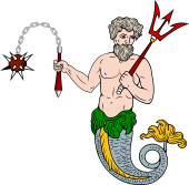 Triton Holding Mace and Chain