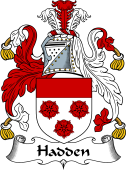 English Coat of Arms for Hadden