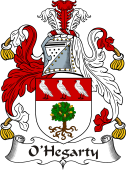 Irish Coat of Arms for O'Hegarty