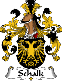 German Coat of Arms for Schalk