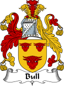 English Coat of Arms for Bull