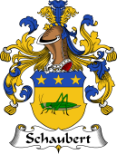 German Coat of Arms for Schaubert