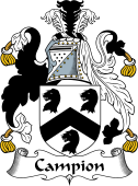 English Coat of Arms for Campion