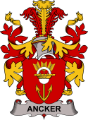 Danish Coat of Arms for Ancker