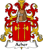 Coat of Arms from France for Acher