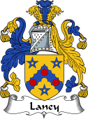 Irish Coat of Arms for Laney or Lany