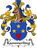 German Wappen Coat of Arms for Kammerling