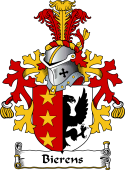 Dutch Coat of Arms for Bierens 1