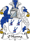 Irish Coat of Arms for O'Hanna