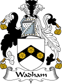 English Coat of Arms for Wadham