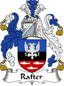 Irish Coat of Arms for Raughter or Rafter