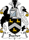 English Coat of Arms for Bucher