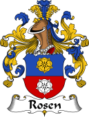 German Coat of Arms for Rosen