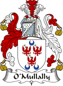 Irish Coat of Arms for O'Mullally or Lally